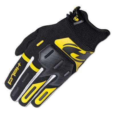 Held Handschuh Hardtack, schwarz-gelb