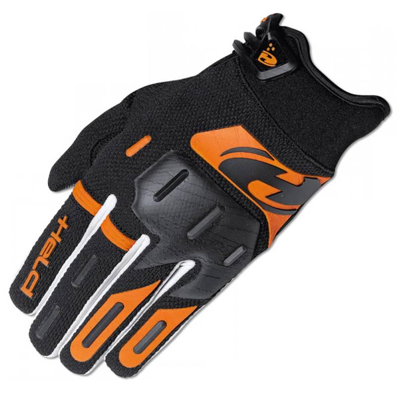 Held Handschuh Hardtack, schwarz-orange