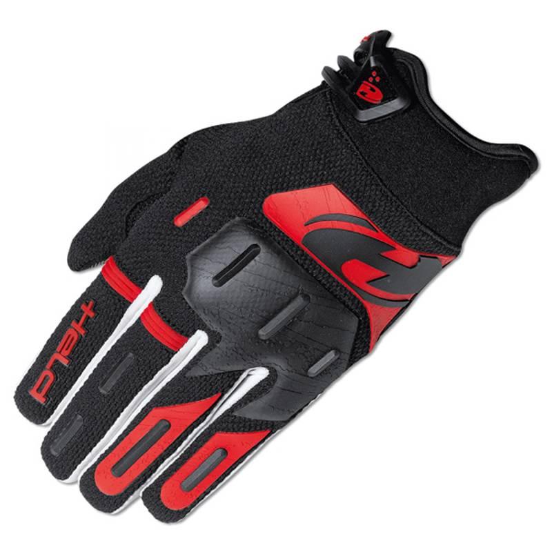 Held Handschuh Hardtack, schwarz-rot