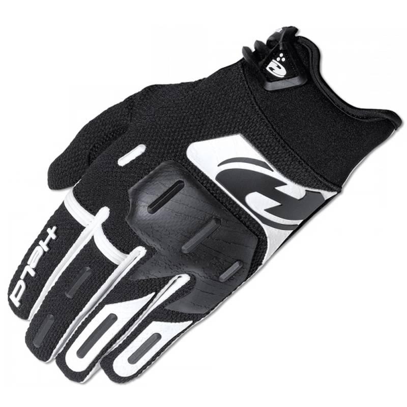 Held Handschuh Hardtack, schwarz-weiß