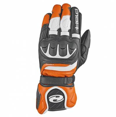 Held Handschuh Revel II, schwarz-orange