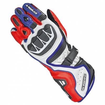 Held Handschuhe Chikara RR, weiß-rot-blau