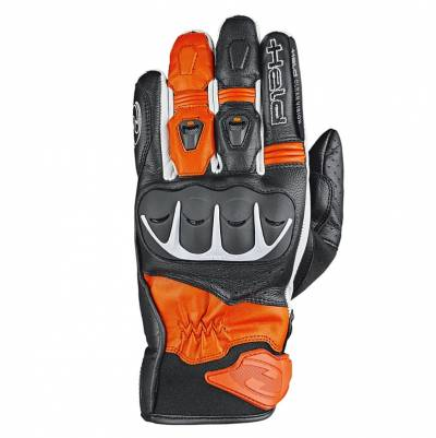Held Handschuhe Dash, schwarz-orange