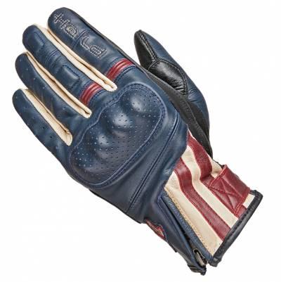 Held Handschuhe Paxton, blau-beige-burgund