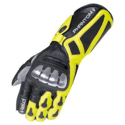Held Handschuhe Phantom II, schwarz-neongelb