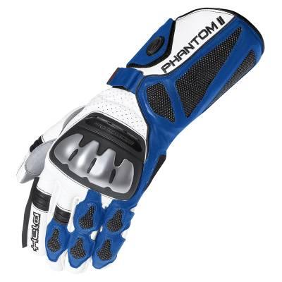 Held Handschuhe Phantom II, weiß-blau