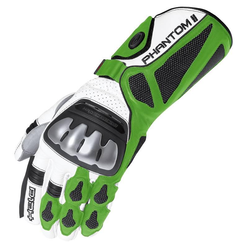 Held Handschuhe Phantom II, weiß-grün