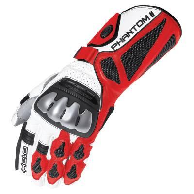 Held Handschuhe Phantom II, weiß-rot