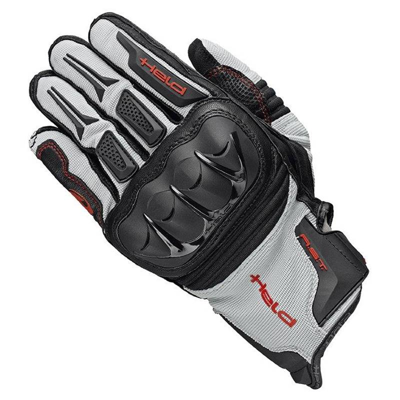 Held Handschuhe Sambia, schwarz-grau-rot