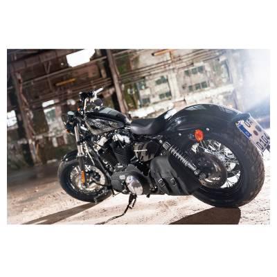 Held Harley-Tasche Springdale, schwarz