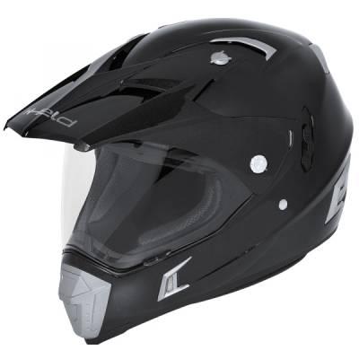 Held Helm Alcatar, schwarz-matt