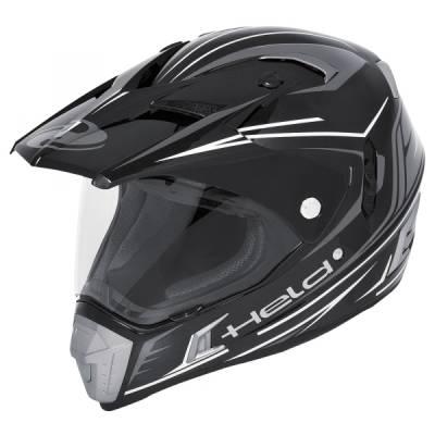Held Helm Alcatar, schwarz-weiß