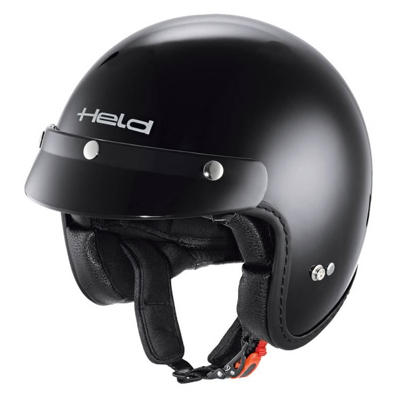 Held Helm Black Bob, schwarz