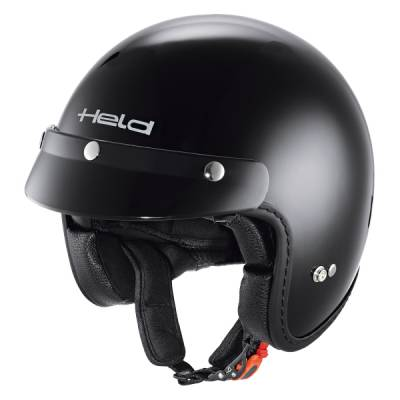 Held Helm Black Bob, schwarz