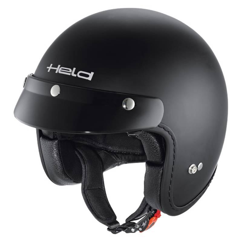 Held Helm Black Bob, schwarz-matt