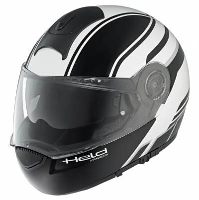 Held Helm H-C3 Trip by Schuberth, schwarz-weiß