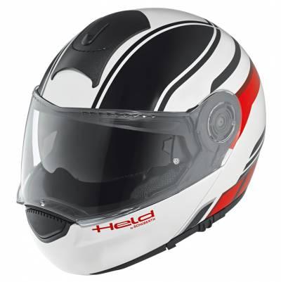 Held Helm H-C3 Trip by Schuberth, schwarz-weiß-rot