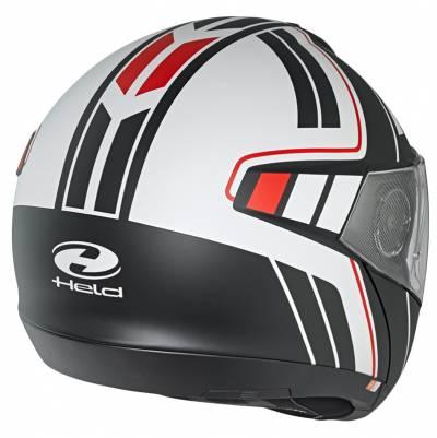 Held Helm H-C4 Tour by Schuberth, schwarz-weiß