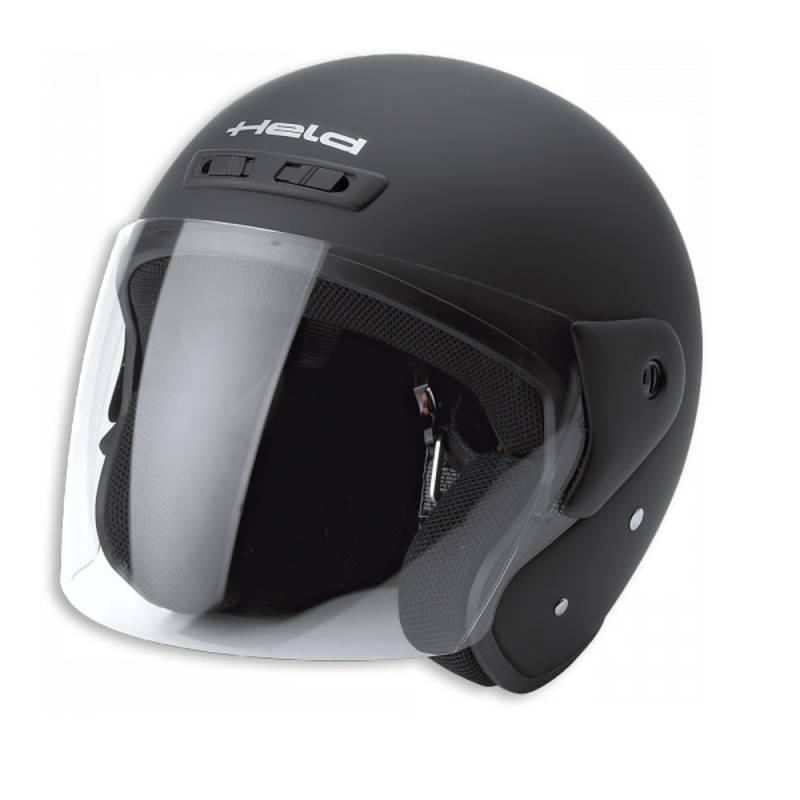 Held Helm Heros, schwarz-matt