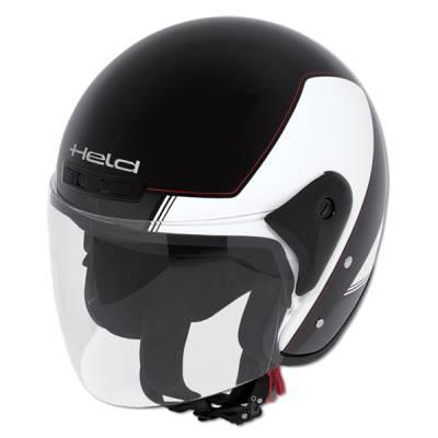Held Helm Heros, schwarz-weiß