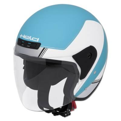Held Helm Heros, weiß-blau