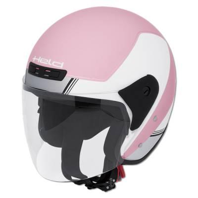 Held Helm Heros, weiß-pink