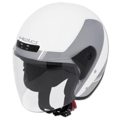 Held Helm Heros, weiß-silber