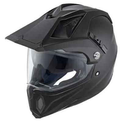 Held Helm Makan, schwarz-matt