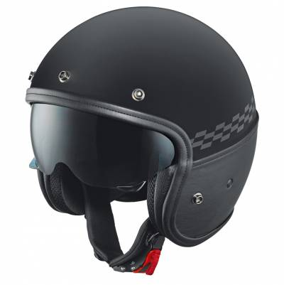 Held Helm Mason, schwarz-matt
