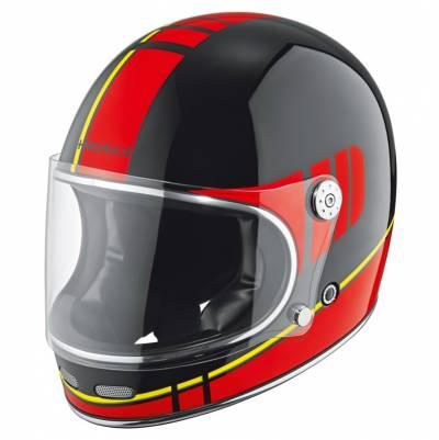 Held Helm Root, schwarz-rot-gelb