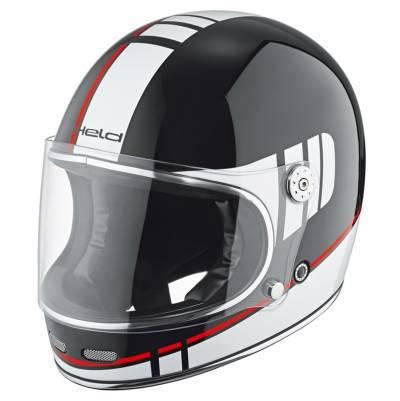 Held Helm Root, schwarz-weiß-rot