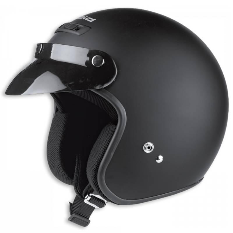 Held Helm Rune, schwarz-matt