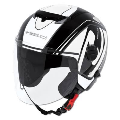 Held Helm Top Spot, schwarz-weiß