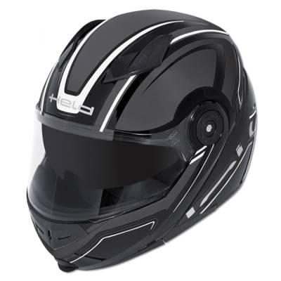 Held Helm Travel-Champ, schwarz-grau