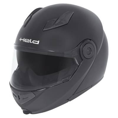 Held Helm Travel-Champ, schwarz-matt