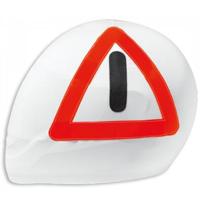 Held Helmbeutel-Warndreieck, weiß