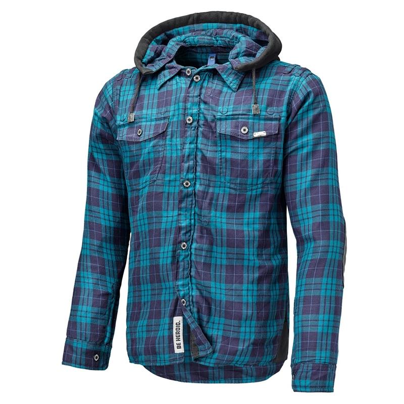 Held Hemd Lumberjack, blau