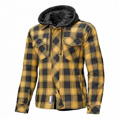 Held Hemd Lumberjack II, schwarz-gelb