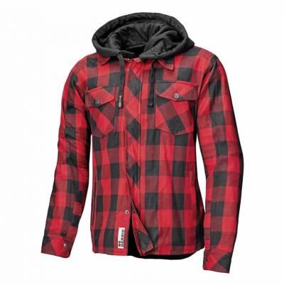 Held Hemd Lumberjack II, schwarz-rot