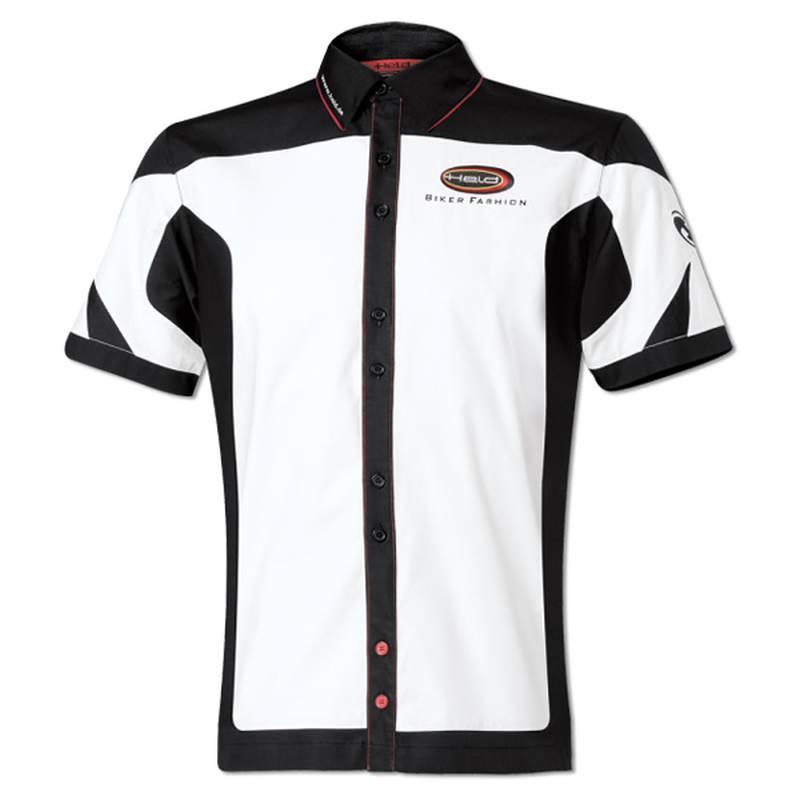 Held Hemd Team Damen, weiß-schwarz