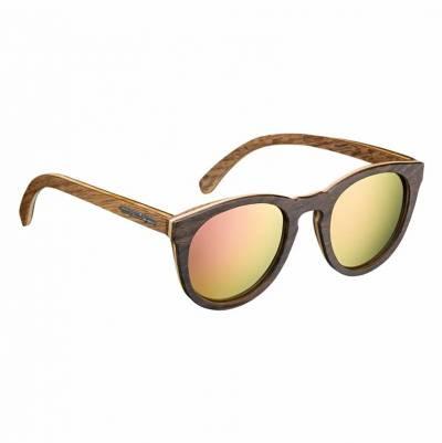 Held Holz-Sonnenbrille, purple verspiegelt