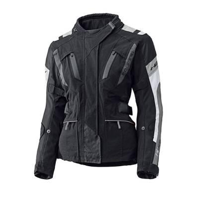 Held Jacke 4-Touring Damen, schwarz-grau