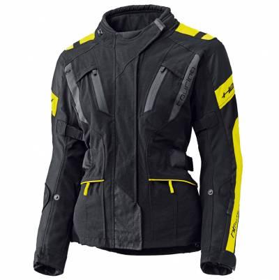 Held Jacke 4-Touring Damen, schwarz-neongelb