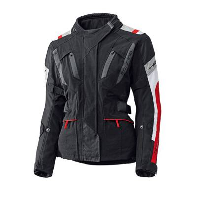 Held Jacke 4-Touring Damen, schwarz-rot