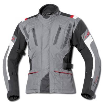 Held Jacke 4-Touring, grau-schwarz
