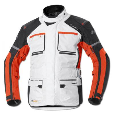 Held Jacke Carese II, grau-orange