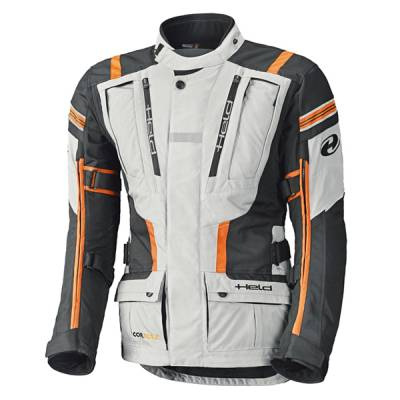 Held Jacke Hakuna II, grau-orange