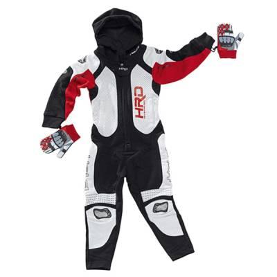 Held Jumpsuit Slade Kids, schwarz-rot