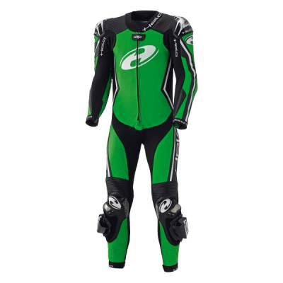 Held Lederkombi - Full-Speed, schwarz-grün