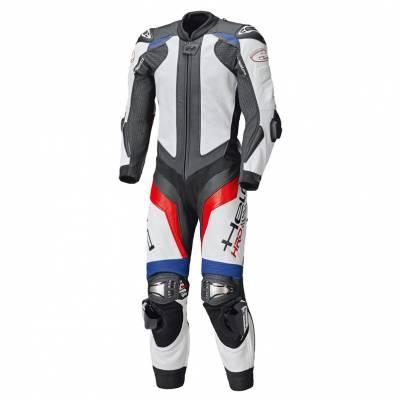 Held Lederkombi - Race-Evo II, blau-rot-weiß